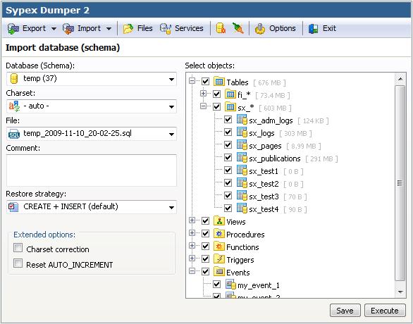 Backup và restore dữ liệu